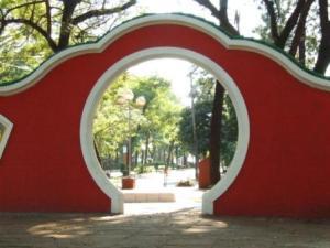 Entrada al Parque Chino